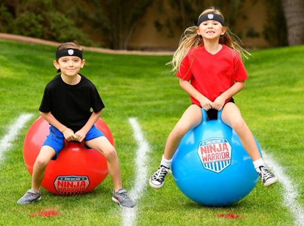 American Ninja Warrior Bounce Balls