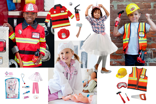 Costumes and accessories for Pretend Play