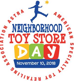 Astra Neighborhood Toy Store Day Nov. 10, 2018