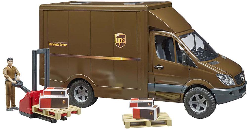Bruder UPS truck
