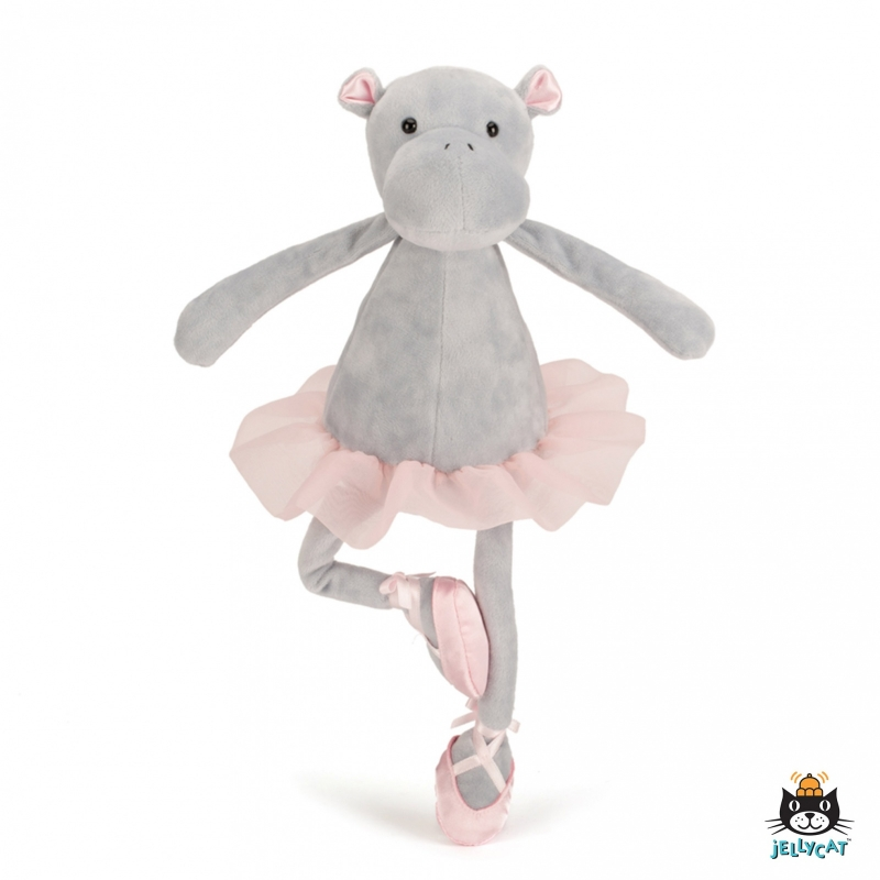 Jellycats Dancing Darcey Hippo