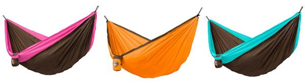3 hammocks