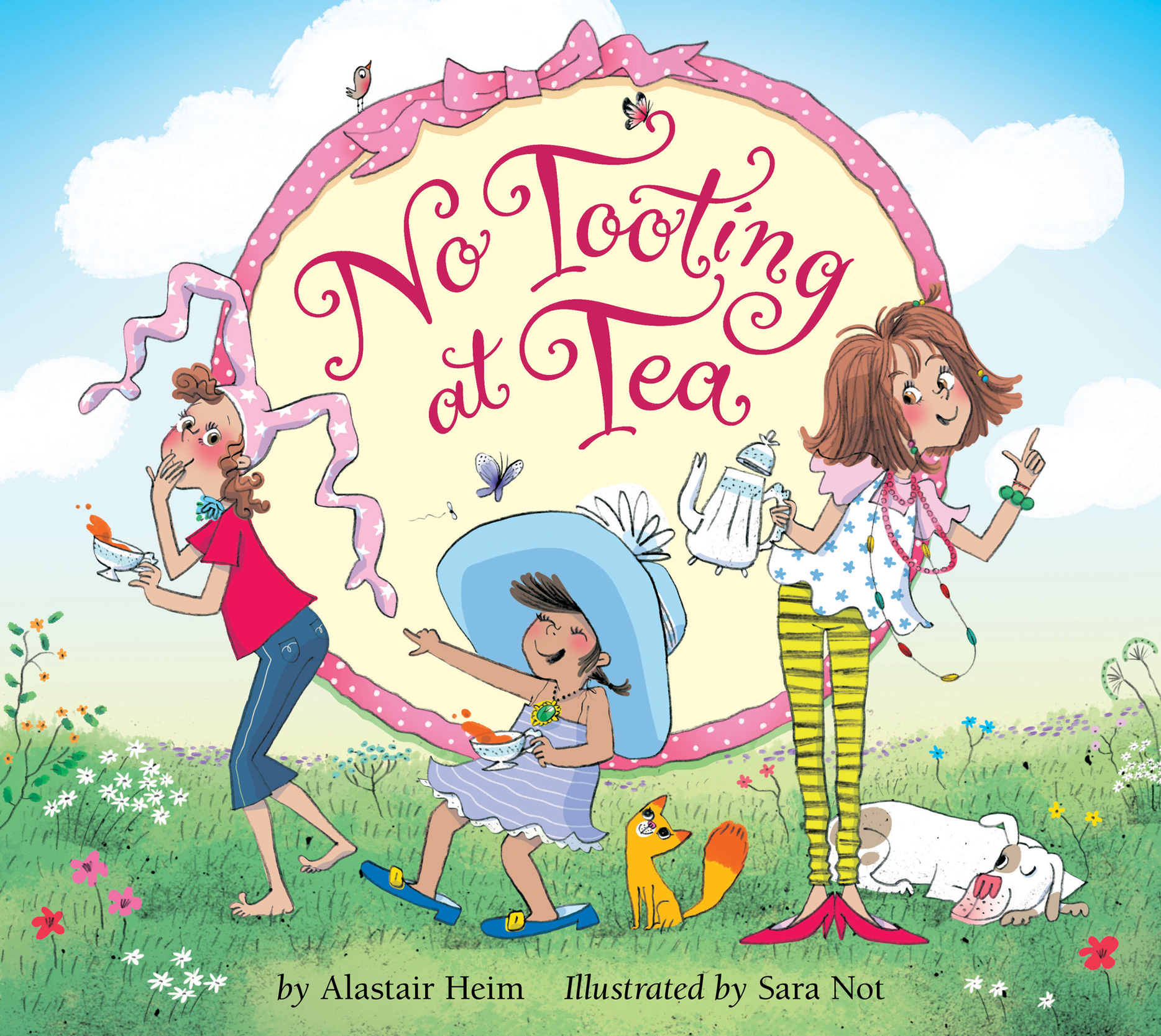 No Tooting At Tea book cover