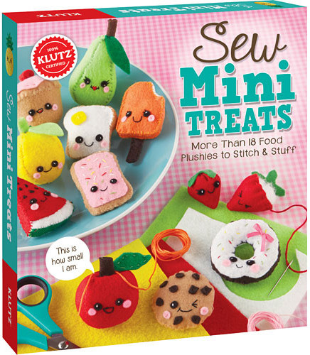 Sew Mini Treats by Klutz