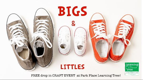 Bigs & Littles Drop-In Craft Event at Park Place Learning Tree