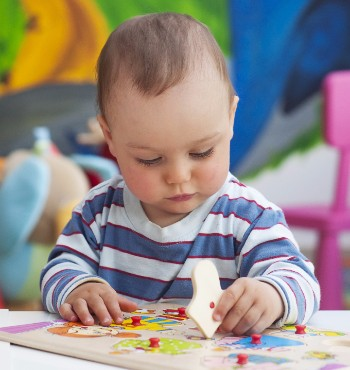 Babies love puzzles