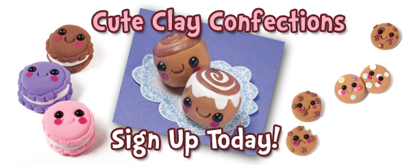 Cute Clay Confections class