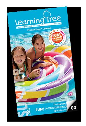 digital Learning Tree Summer toy catalog