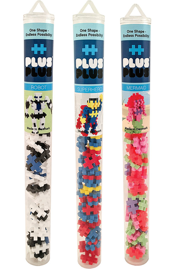 Plus-Plus Mini Maker Tubes