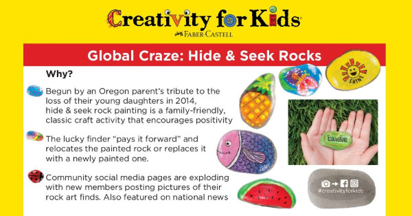 Hide and Seek Rock Painting Event