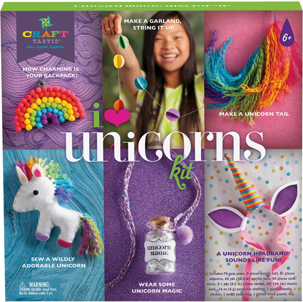 I Heart Unicorns craft kit