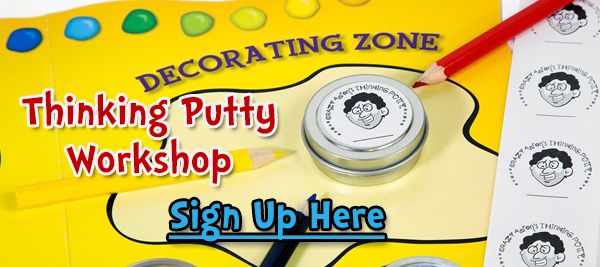 Crazy Aaron's Thinking Putty Workshop