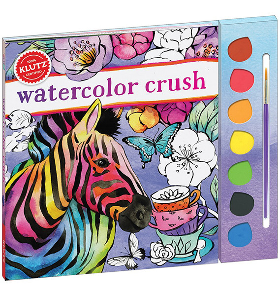 Watercolor Crush by Klutz