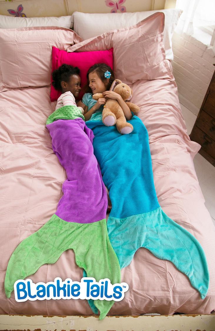 Mermaid Blankie Tails