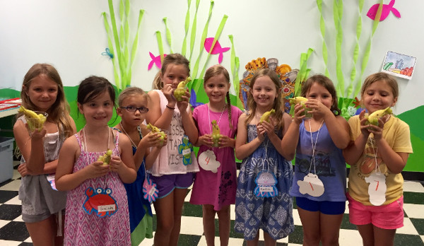 2016 Mermaid Camp at the Learning Tree in Prairie Village