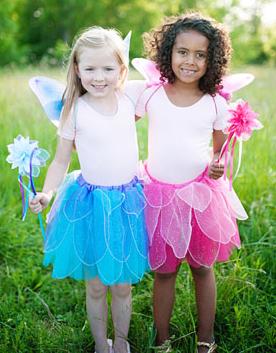 Flutter skirts