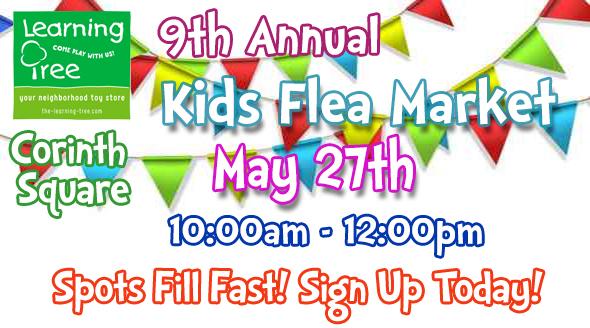 2017 Kid's Flea Market at Corinth Square Learning Tree