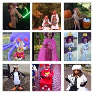 kids costumes for Halloween