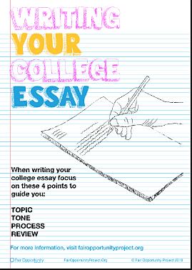 College Essay Infographic