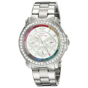 Juicy Couture ρολόι από ανοξείδωτο ατσάλι με μπρασελέ 1901275