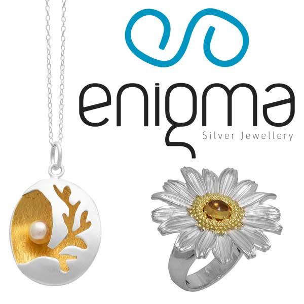 Enigma2017 Collection- Χειροποίητα ασημένια κοσμήματα με εντυπωσιακά σχέδια και ιδιαίτερο στυλ.