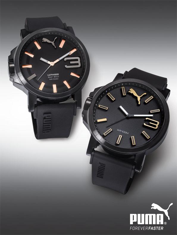 Puma Ρολόγια- Ησυλλογή ρολογιών της Pumaείναι μία αποκλειστική γραμμή sport-lifestyle ρολογιών.