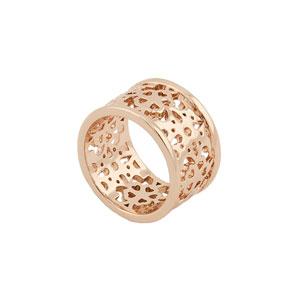 Loisir δαχτυλίδι 04L15-00047 από ροζ ορείχαλκο