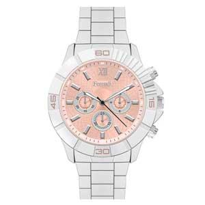 Ferendi ρολόι 6689-2 με steel alloy πλαίσιο και μπρασελέ.