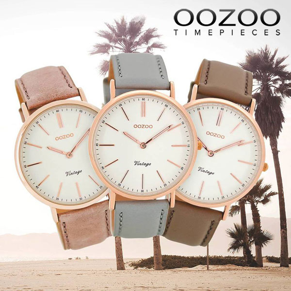OOZOO Ρολόγια - Summer 2017 Collection