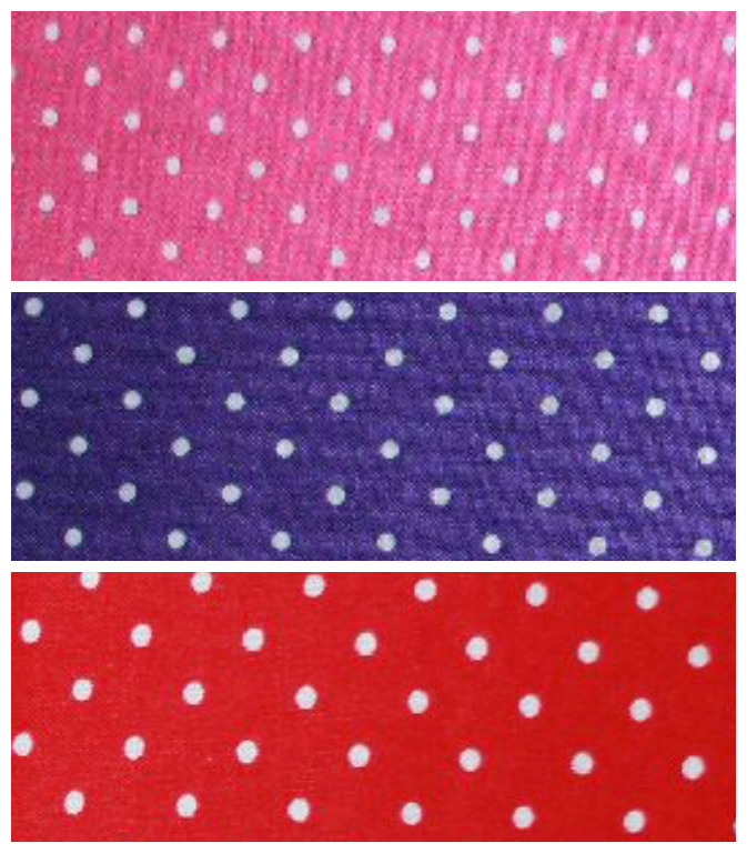 Mini spots quilting fabric