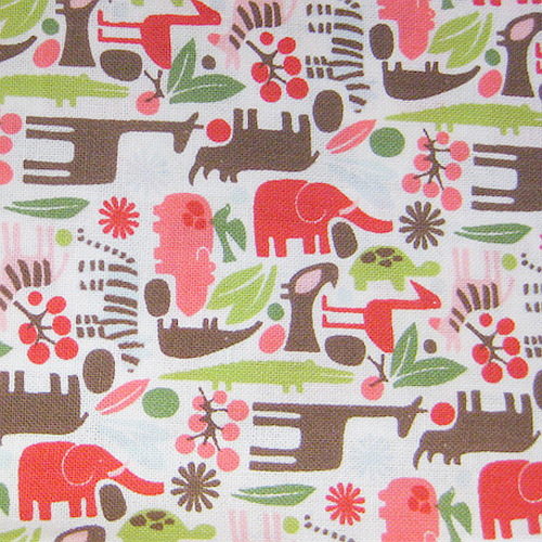 Teeny Tiny Zoo Fabric