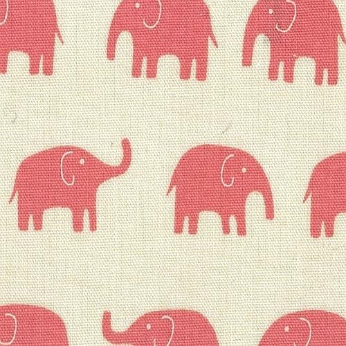 Daiwabo Elephant Fabric Pink