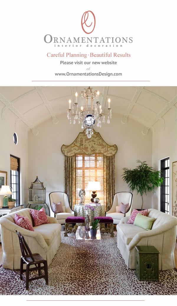 Ornamentations Design by Audrey Curl, San Antonio, Texas | Website is Live!