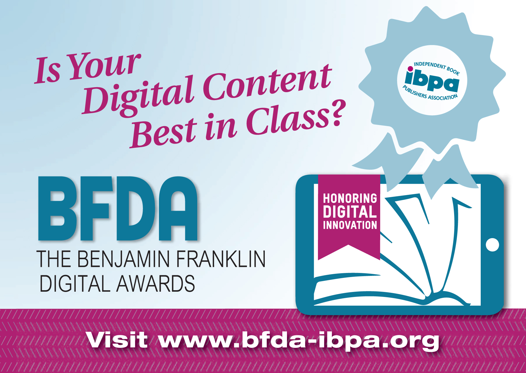 Benjamin Franklin Digital Award