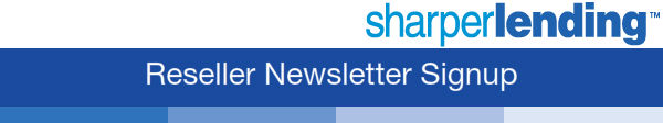 SharperLending Newsletter Signup