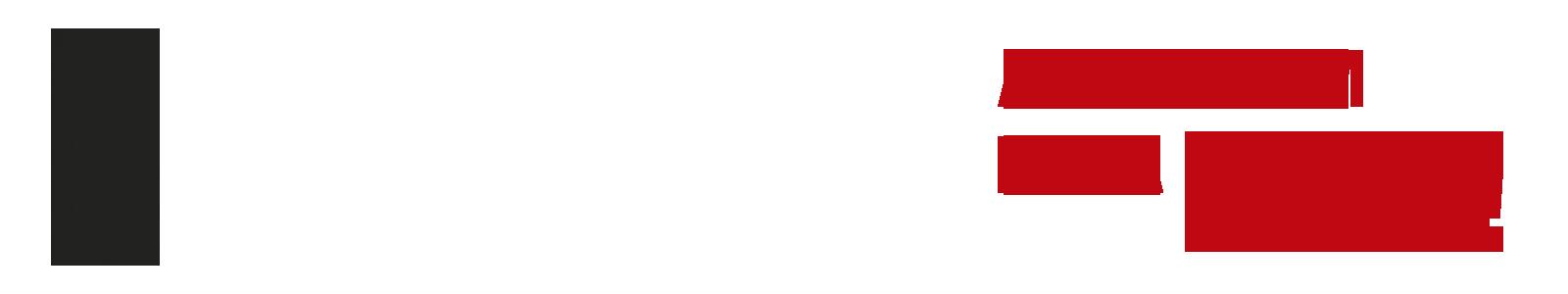 DESCRIÇÃO DE IMAGEM: À esquerda, o logo da Fundação Dorina em linhas pretas. À direita, a frase ACABE COM ESSA FILA! em letras maiúsculas e em vermelho escuro.