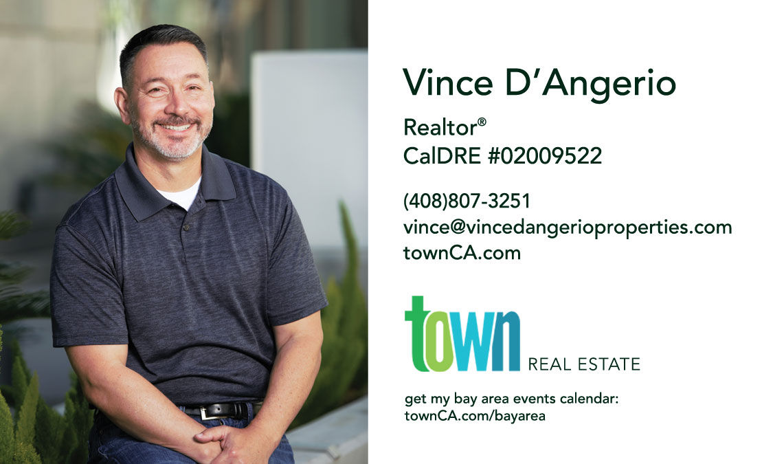 Vince D'Angerio business card image