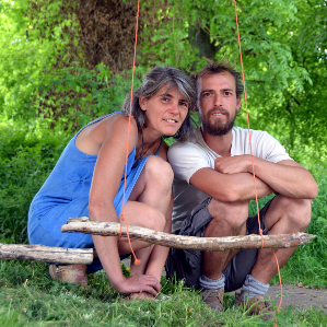 Jardin Bio Pourquoi Pas ! Christine & Baptiste Rocour, Jeneret