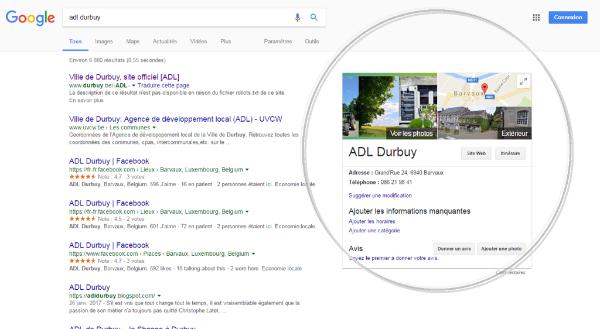 Google My Business - Visuel