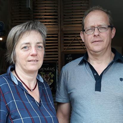 Paul et Valérie Galand-Wansart   Les Lanternes à Wéris
