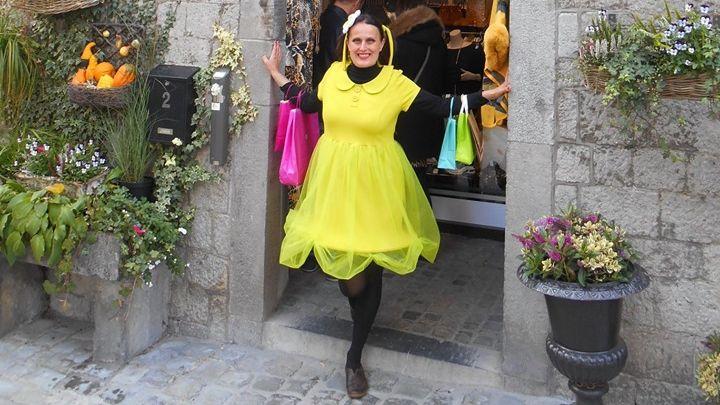 Adeline de Durbuy, de sortie pour Le Week-End du Client !