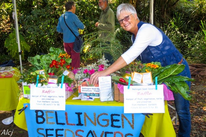 Nellingen Seed Savers raffle table