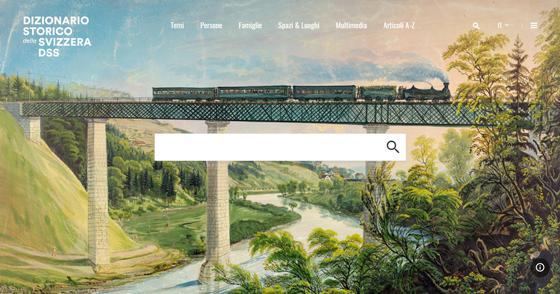 Screenshot der neuen HLS-Webseite