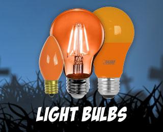 Halloween Light Bulbs