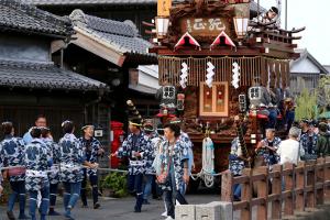 Sawara Festival Participation Tour