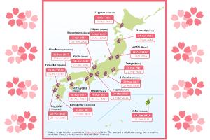 Cherry Blossom Forecast 2017