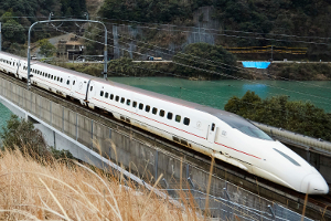 Free Wi-Fi service begins on Shinkansen bullet trains