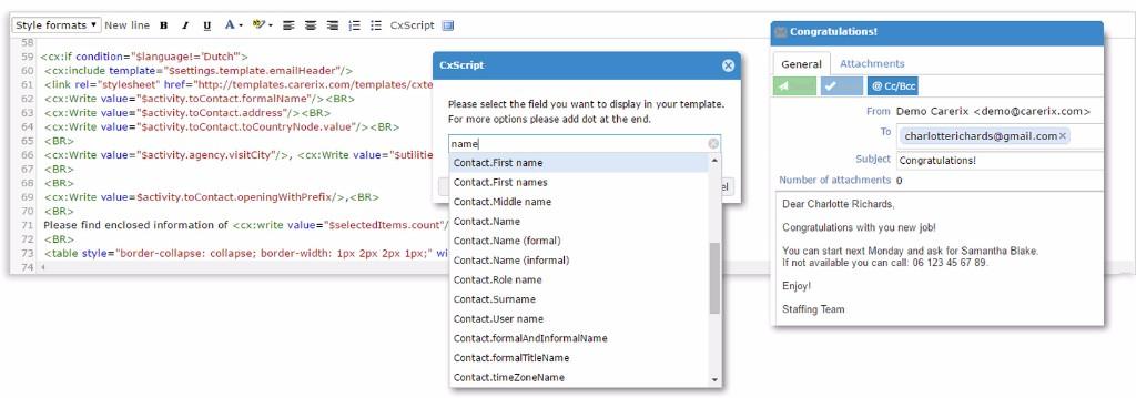 Werk sneller met de vernieuwde Template editor voor e-mailsjablonen