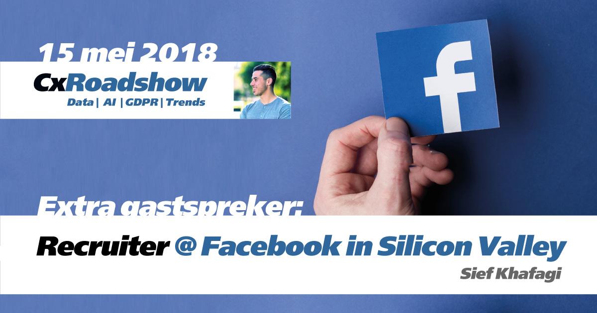 Meld je aan voor de extra sessie door Facebook!