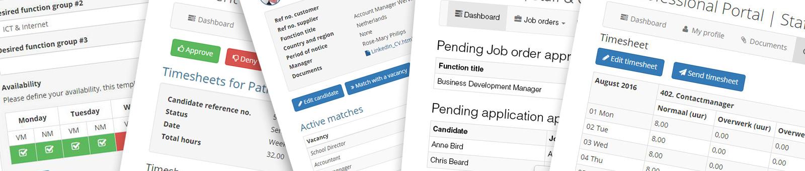 Optimaliseer nu uw workflows met één of meerdere Carerix portals